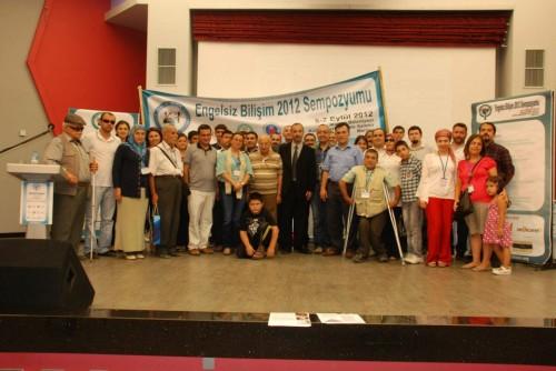 Türkiye Engelsiz Bilişim Sempozyumu Toplu Resim